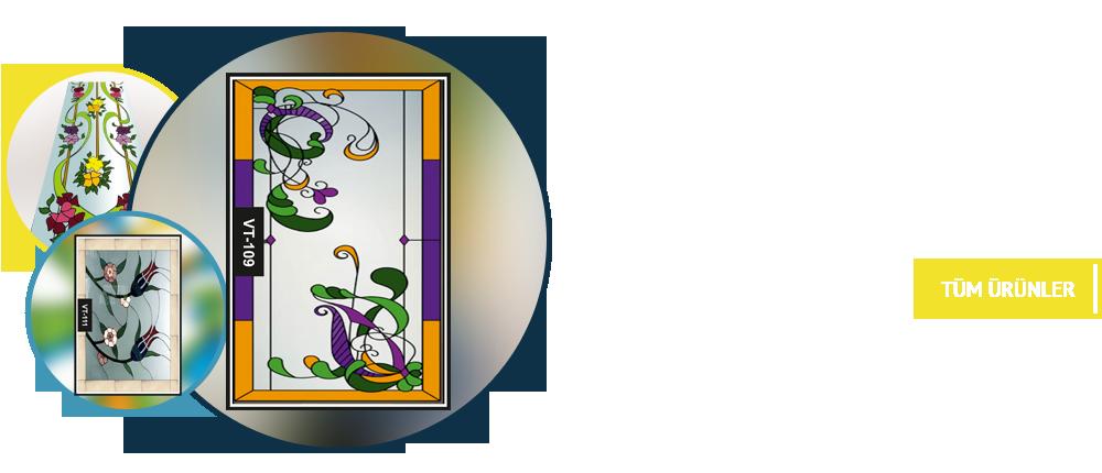 Vitray Tavan Uygulamaları